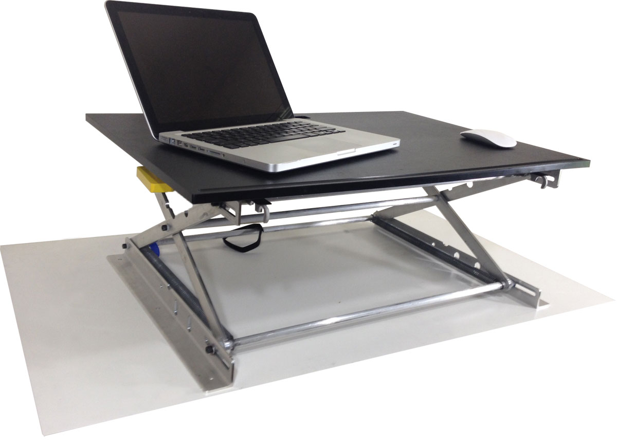 Riseup Standing Desk Adjustable And Portable Sit Or